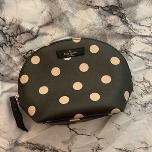 Kate Spade   Zipper   Makeup Bag   polka dot